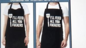 New New New cooking barbecue chef apron